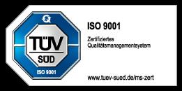 TÜV zertifizierte Qualität